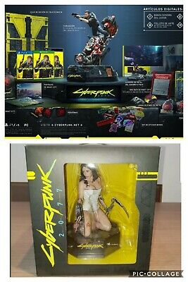 Cyberpunk 2077 Collector's  Edition Estatue/Figura Exclusive E3 Rare!!!