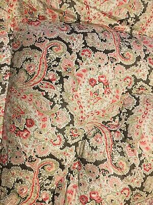 Vintage 1940's Floral  Single Feather Eiderdown