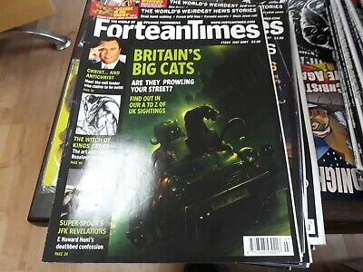 FORTEAN TIMES 224 - Britain's Big Cats, Cult leaders, Witch of Kings Cross