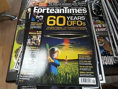 Fortean Times 225 - 60 years of UFOs, Oregon aliens, 1950's UFO movies, stamps