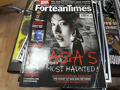 FORTEAN TIMES 227 - Asia's most haunted, Killer kites, Haunted fire stations