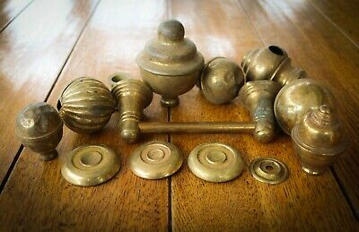 Bundle - Victorian Salvaged Reclaimed - Brass Odd bits - Job Lot