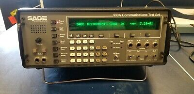 SAGE 930A Communications Test Set Good Unit #1