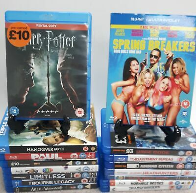 Bluray Family Bundle x 16 Joblot Collection Transformers, Harry Potter #107
