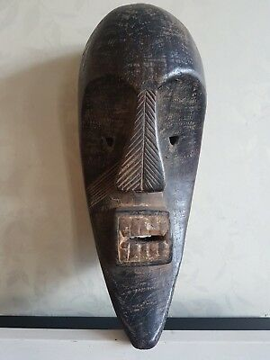 Fine African Guro wood mask. Nice example with a lovely patina. Ivory Coast.