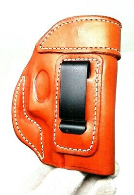 CEBECI IWB BROWN Leather Holster with Comfort Tab for GLOCK
