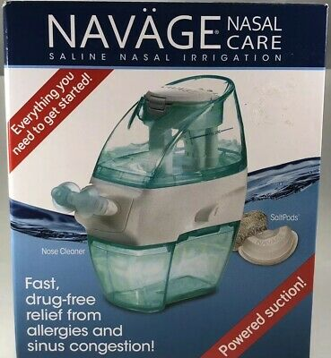 Navage Nasal Irrigation Basic Bundle: Navage Nose Cleaner NEW