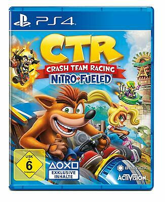 Crash Team Racing Ctr Nitro-Fueled Ps4 Playstation 4 Activision Blizzard
