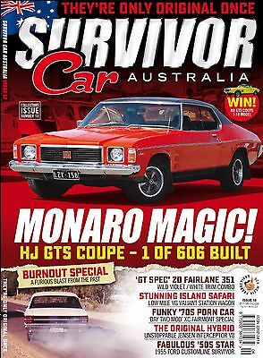 SURVIVOR CAR AUSTRALIA Issue 22: Violet Rumble Falcon Gt
