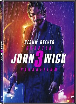 John Wick: Chapter 3 - Parabellum - DVD Keanu Reeves PRE ORDER for Aug or Sept!