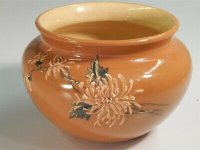 "Antique Weller Dickensware ""Aster"" Jardiniere/Planter #201"