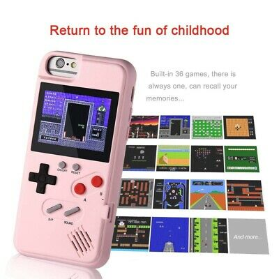 Gameboy Phone Case Cover 36 Retro Games Color Display for iPhone X Max/XS/X/8/7