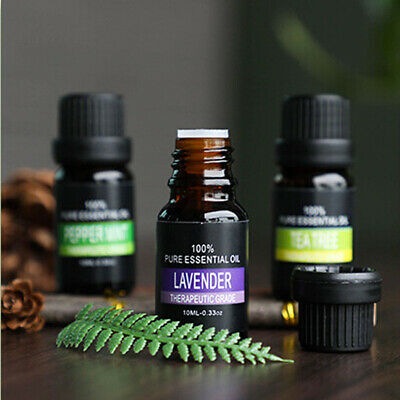 New Aromatherapy Essential Oils Natural Pure Essential Oil Fragrances 10ml CA