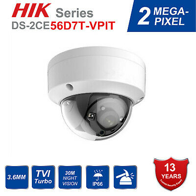 HIKVISION DOME IP Camera 8MP Outdoor DS-2CD2185FWD-IS Audio USA