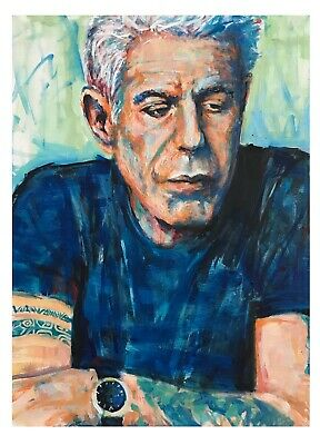 Joey Diaz limited edition signed paper print 18x24 Original art made by Xilberto
