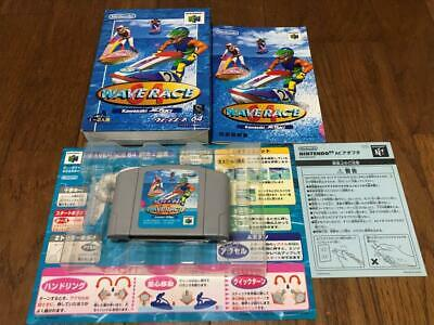 Wave Race 64  Nintendo 64 n64 W/box manual japan games japanese 53