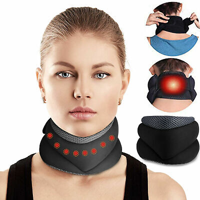 Magnetic Neck Support Cervical Collar Traction Device Medical Neck Pain Therapy