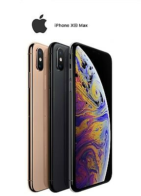 Apple iPhone XS MAX 512GB Grey, Gold, Silver [Unlocked] GST Tax Inv AU Stock