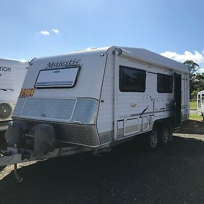 Majestic Tiara 20 Ft Semi Off Road Caravan