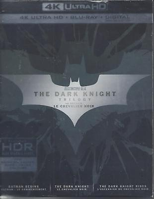 The Dark Knight Trilogy (4K Ultra Hd/Bluray)(6 Disc Set)(Used)