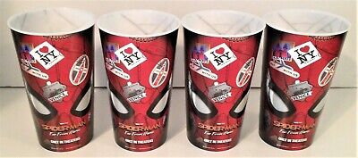 Spider-Man: Far From Home Movie Theater Exclusive Four 44 oz Plastic Cups