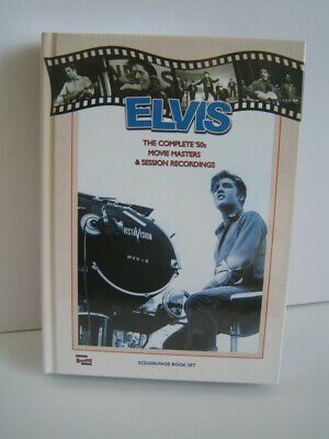 5 CD Book Elvis Presley: The Complete '50s Movie Masters & Session Recordings