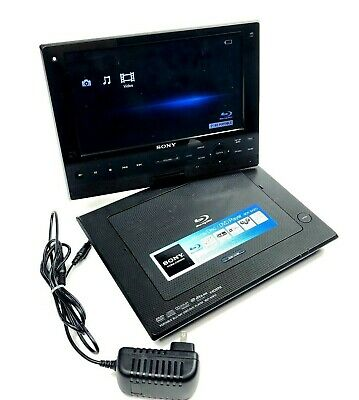 Sony Portable Blu Ray DVD Player 9-in High-Resolution LCD BDP-SX910 W AC Adapter