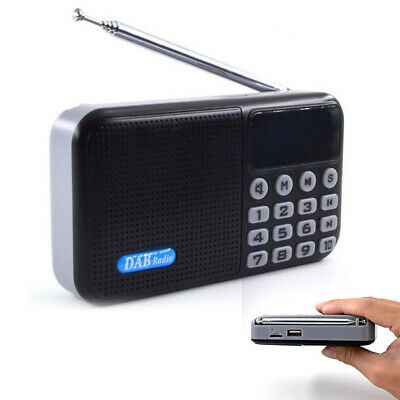 DAB / DAB+ Digital Radio Portable with FM Rechargeable Battery Bluetooth Speaker