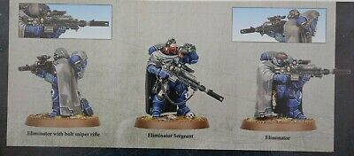 Warhammer 40k Primaris Space Marines Eliminator Squad x3 Shadowspear -NoS-