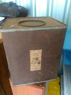 Old Tin box for gelatin coated pills