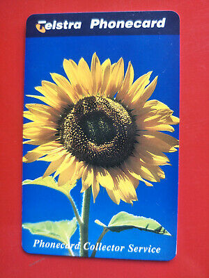 Mint $5  Phonecard Collector Service Sunflower 97005017P Exp 01/2000