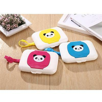 Wet Wipe Pouch Portable Reusable Bag Window Drawing Convenient Traveling HY