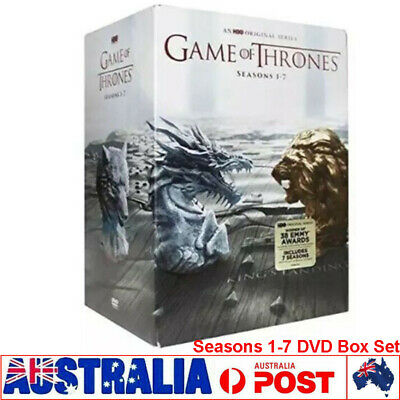 Game Of Thrones The Complete Season 1-7 Box Set New & Sealed DVD 1 2 3 4 5 6 7