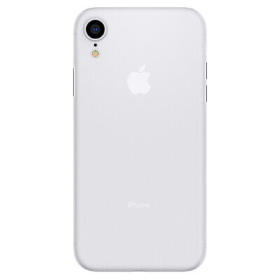iPhone XR Case, Spigen Air Skin Cover Case - Soft Clear
