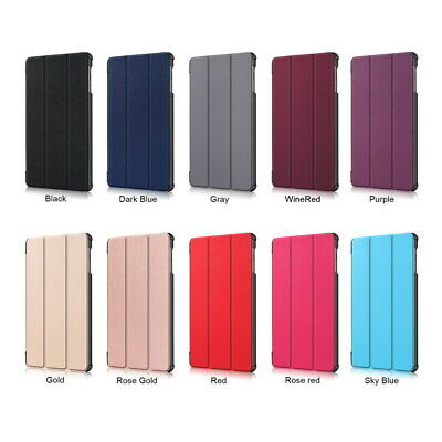 Protective PU Leather Cover Case For Samsung Galaxy Tab A 10.1 2019 SM-T515 T510