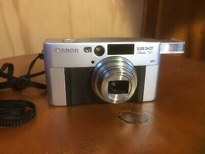 CANON Sureshot Classic 120 35mm Point + Shoot Film Camera EXCELLENT TESTED