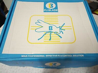 Insect trap flykiller FliBlade 26 with glueboard & UV lamps coverage up to 80 m²