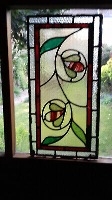 ORIGINAL edwardian stained glass windows for grand entrance porch