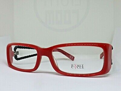 Exalt Cycle Explaits Optische Brille Gestell Vintage Alter 2000 Frau Rot
