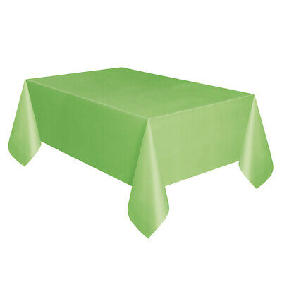 Large Plastic Table Cover Cloth Wipe Clean Party Tablecloth Round Covers Cloths