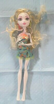 monster high doll, Lagoona blue, feckles