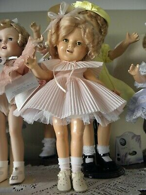 Ideal 1930S Shirley Temple Composition Antique Doll Rare Size.baby Take A Bow.