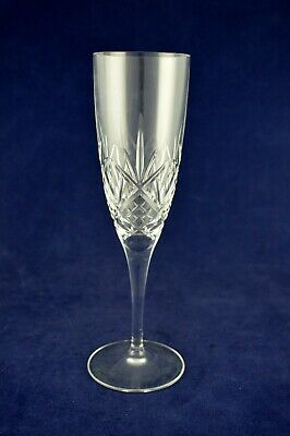 """Royal Doulton Crystal """"HELLENE"""" Champagne Glass / Flute - 21cms (8-1/4"""") Tall"""