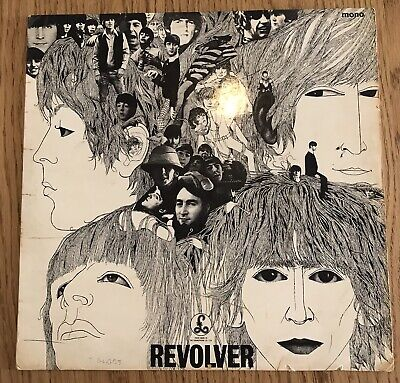 "The Beatles Revolver 12"" LP PMC 7009 Original Vinyl"