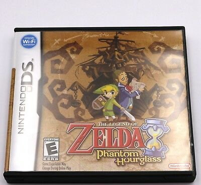 Legend of Zelda Phantom Hourglass Nintendo DS Game NDS 3DS XL New in Box