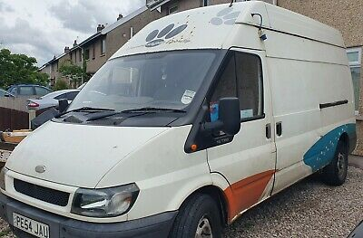 ford transit 350 lwb high roof (54 plate)