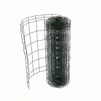NEW! 0.6m x 10m Green PVC Coated Galvanised Steel Mesh Stock Euro Fencing