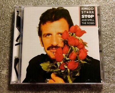Ringo Starr - Stop & Smell The Roses CD - FREE FAST U.S. Shipping