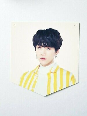 K-Pop Bts World Tour Love Yourself Seoul Official Limited Suga Photocard