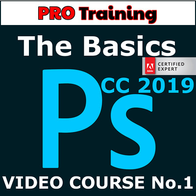 Video Courses Adobe Photoshop CC 2019 Course1 - Training Video Lessons Tutorials